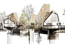 Visual Communications / Sketches, drawings, sections/plans/elevations, renderings. Love.
