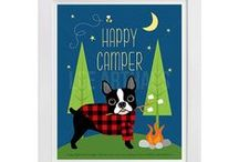 Lee ArtHaus Boston Terrier Dog Products / Boston Terrier Dog Products