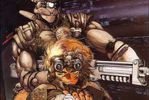 士郎正宗 - Masamune Shirow / +18 Drawings manga Masamune Shirow