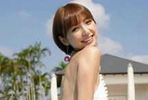 Mariko Shinoda / Born March 11, 1986 in Fukuoka, is a Japanese singer, actress, fashion model, and former ex-member of the Japanese idol group AKB48, in which she was the captain of Team A.