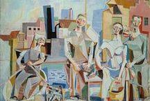Aage Storstein / Aage Storstein var en foregangsmann for kubismen i norsk kunst og ble en av de mest betydningsfulle fornyere av norsk maleri på 1900-tallet. https://nbl.snl.no/Aage_Storstein