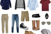 What to Wear: Senior Guy Portraits / Fashion & outfits for guys' senior portraits.