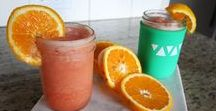 Mason Jar Cocktails / Simple drink recipes.  https://mason-re.com/blogs/mason-re-blog
