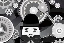 Alternative Movie Posters / Alternative Movie Posters illustrated by Francesco Dibattista. My website: www.francescodibattista.com
