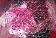 Kunst bij Tekenwijzer / Schilderijen gemaakt door Gerda Meijer