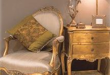 Sumptuous Gold Furniture/Decor / A selection of fabulous Gold furniture/interiors - a timeless colour to glam up your abode!