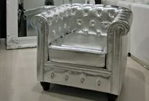 Stylish Silver Furniture/Interiors / A stunning selection of silver furniture/interiors to inspire you with your own home decor ideas.