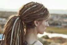 Dreadlocks / I had dreadlocks in my 20s. I miss how they look. I don't miss the itchy head, or splitting them, or never feeling like I got my head completely clean. But oooh how I miss how they looked!