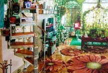 Bohemian Dream Home / My dream home, bohemian, creative, fun and natural.