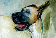 Painting Dogs / My Painting Dog Greate Dane