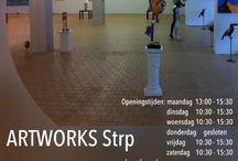 ARTWORKS Strp/Strm / Galerie in Eindhoven Johannes Buijslaan 48 en Leenderweg 74