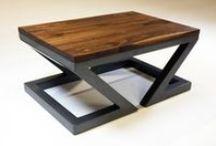 Židle, stoly, sezení