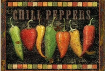 Chili Peppers / by Sheila Tanner