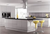 Our Kitchens Collection / From highly contemporary high gloss to clasically stylish painted shaker designs, our kitchens are easy to buy and easy to fit and once you have one we know you'll love it!