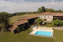 Idyllic Pyrenean holidays / Character cottage Le Fournil with magnificent panoramic views of the French Pyrenees, catering for 4. Rural and peaceful location, ideal for cycling, walking and all other outdoors activities, or just to unwind and relax. www.pyreneesgite.com