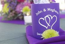 Wedding Koozies / Wedding Koozies are the perfect favor as guests will keep them forever!