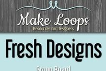 Fresh Designs on Make Loops / New knitting and crochet patterns from members of the MakeLoops.com community.  Find the hottest new designs and then make them for yourself! To join go to http://www.makeloops.com/forums/topic/join-make-loops-group-board-pinterest and post a link to your Pinterest profile. / by Make Loops