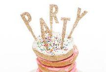 Celebrating / Birthday parties, fetes, anniversaries, weddings... life's celebrations