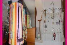 Ideas para el hogar / Aquí encontrarás ideas que te vendrán muy bien para organizar y decorar en casa. #decoración #manualidades #home #craft