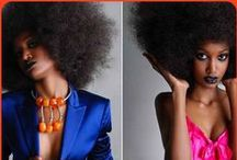 Your Hair Is Fieeeerce! / afro, curly, relaxed, weave hair, black girls hairstyles,