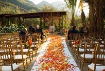 Falling in Love: Autumn Weddings / Life Goal: Crunch EVERY SINGLE LEAF on the way down the aisle.