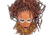 African Collectables / African masks, Ivory Coast artifacts, African antiques