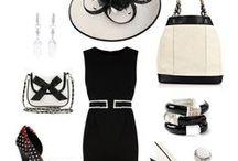 White,black