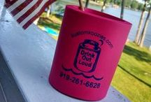 Business Koozies / Kustom Koozies is a GREAT way to spread the word about your business or an event with your business!