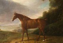 Horses and farm animals in Art / Great oil paintings of Horses and farm animals