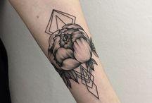 Peony & other tattoos