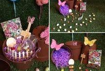 Fairy and Dinosaur Gardens by Elegant Fancies Etsy Shop