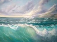 Art by M Kishek: Seascapes / Seascape paintings by Marwan Kishek. All paintings are painted with the finest oil colours and brushes on stretched canvas of various sizes.