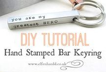 DIY Tutorials / How do you get a sparkling finish on a tarnished piece of jewellery? Just what IS the proper way to put on a cuff bracelet? How do you make a stamped keyring? All in here!