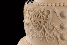 Cakes:Royal Iced Cakes and Pieces of Royal Iced Work. / Sugar crafting with royal icing / by Sheila Martin