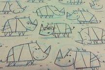 Animals / Rhino