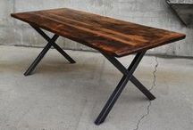 Lush Woodcraft / Lush Woodcraft specializes in hand-made reclaimed wood furniture and decor for your home, cottage, or business. Our products are often made from local re-claimed materials such as barn board, railroad ties, and pallet wood. All of our pieces are custom made to order so you can chose the size, style, stain, and finish. Our work always comes with a quality and satisfaction guarantee. More products at:           www.lushwoodcraft.ca
