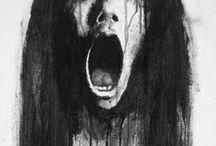 whispering wind / Horror & creepy