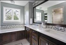 Bathroom Remodeling / Remodeled Bathrooms by Sicora Design Build