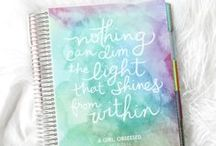 Planner Envy / Planners, Bullet journals, Filofaxes, oh, so many things to list....