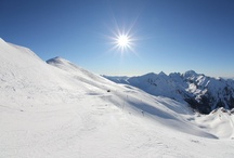 Paysages domaine skiable