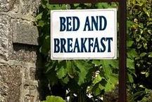 Bed and Breakfast / onze nieuwe passie, met een knipoog