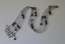 muurdecoratie muziek / by TRENDY MUURDECORATIE