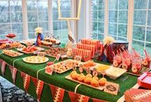 Super Bowl Party Ideas / Prepare for your Super Bowl party with these great ideas!