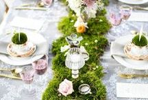 Eli´s Wedding DECORATION Inspiration / how to set a table
