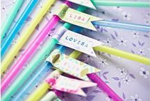 Washi tape || CRAFTIE LIFE / Original and beautiful Ideas with washi tape