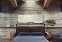 Dormitorios  /  Bedrooms / interior design _ home _ light _ living _ materials _bedrooms _ industrial design  _ decor _ furniture _ products _deco _home _lifestyle _room