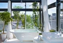 Bright Bathrooms / This part of the house should be your own little spa...