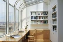 Enjoyable Home Offices / A great environment feeds the mind and makes working easier...