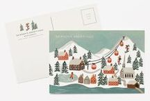 christmas & new year / cards & illustrations