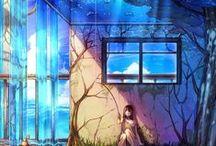 Anime (Räume & Landschaften)
